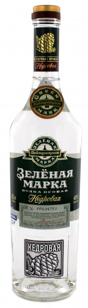 Green Mark Cedar Nut Vodka 0,5L 40%