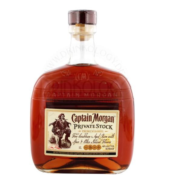 Captain Morgan Private Stock 1,0L 40%