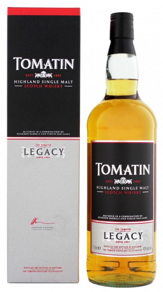 Tomatin Highland Single Malt Whisky 1,0L 43%