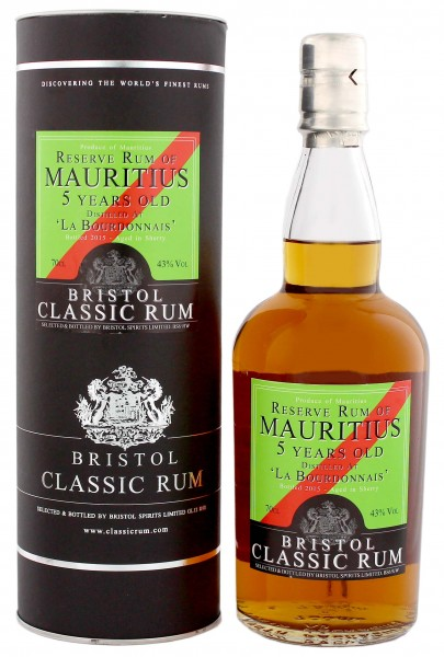 Bristol Reserve Rum of Mauritius 5YO Sherry Finish 0,7L 43%
