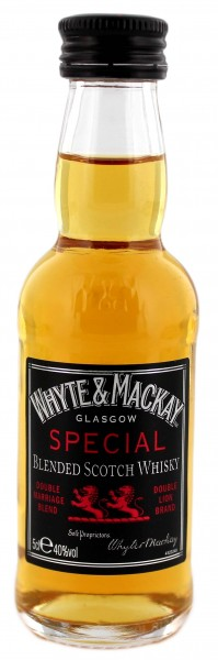 Whyte & Mackay Special Miniatur 0,05L 40%