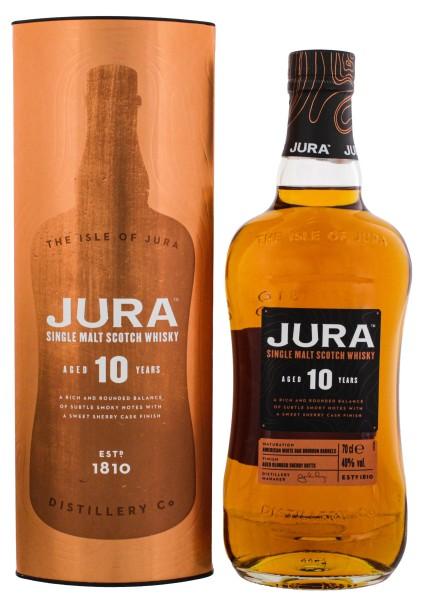 Isle of Jura Single Malt Whisky 10 Years 0,7L 40%