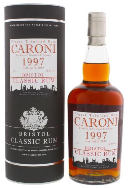 Bristol Rum Caroni Trinidad and Tobago 1997/2019 0,7L 56,4%