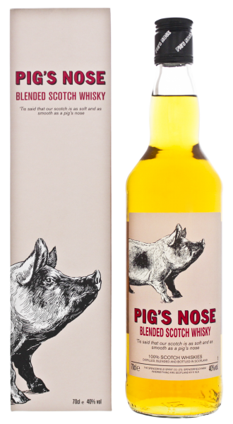Pigs Nose Blended Scotch Whisky, 0,7 L, 40%