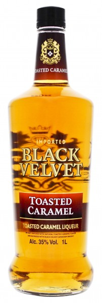 Black Velvet Toasted Caramel Liqueur 1,0L 35%