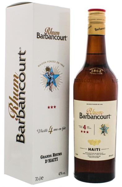 Barbancourt Rum Three Star 4 Jahre, 0,7 L, 40%