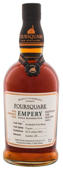 Foursquare Fine Barbados Rum Empery 14 Jahre 0,7L 56%