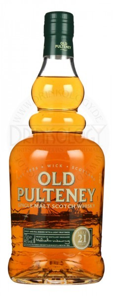 Old Pulteney Single Malt Whisky 21 Years Old 0,7L 46%