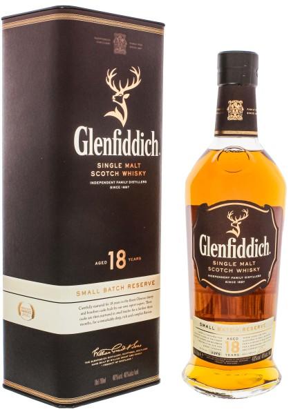Glenfiddich 18 Jahre Small Batch release (oloroso & Bourbon) 0,7L 40%