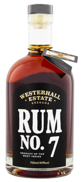 Westerhal estate rum No. 7