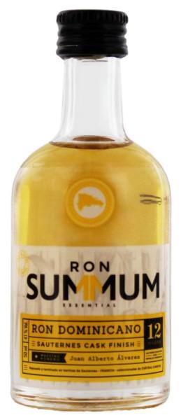 Summum Rum 12 YO Sauternes Cask Finish Miniatur, 0,05L 41%