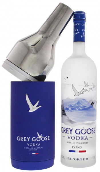 Grey Goose Vodka im Exclusive Chiller Pack 1,0L 40%