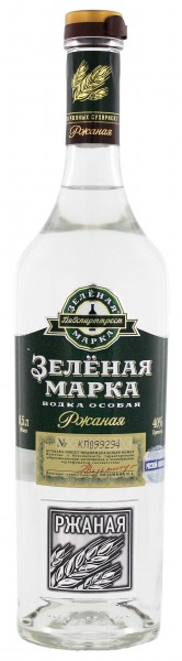 Green Mark Rye Vodka 0,5L 40%