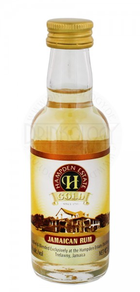 Hampden Estate Gold Rum Miniature 0,05L 40%