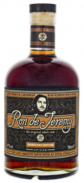 Ron de Jeremy Spiced Hardcore Edition 0,7L 47%