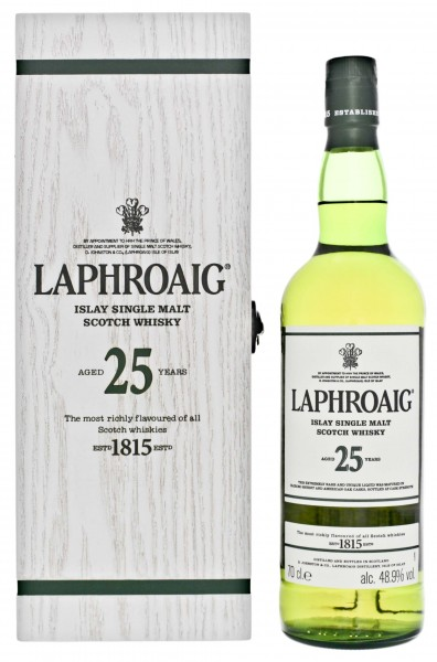 Laphroaig Single Malt Whisky 25 Jahre 2017 Cask Strength 0,7L 48,9%