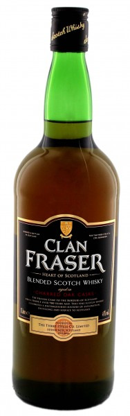 Clan Fraser Blended Scotch Whisky 1,0L