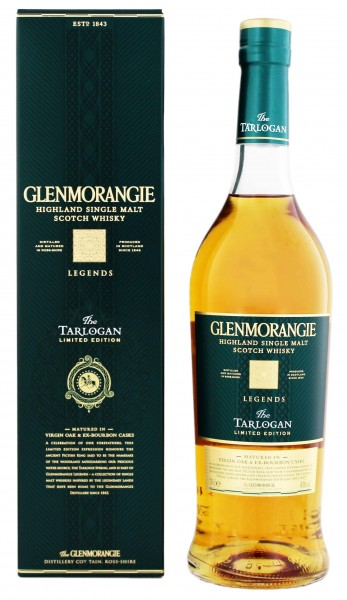 Glenmorangie Highland Single Malt Whisky The Tarlogan, 0,7L 43%