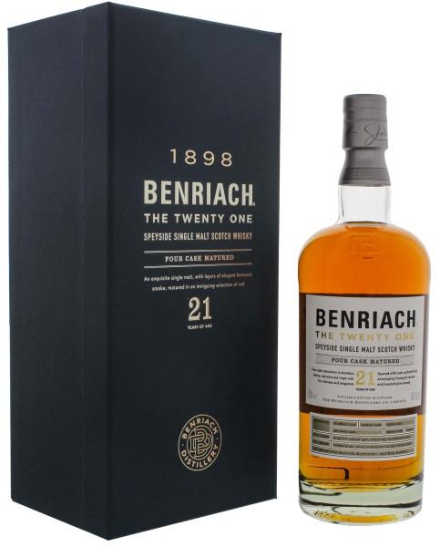 Benriach The Twenty One Four Cask Matured Single Malt Whisky 0,7L 46%