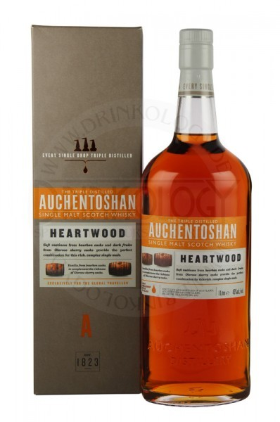 Auchentoshan Single Malt Whisky Heartwood