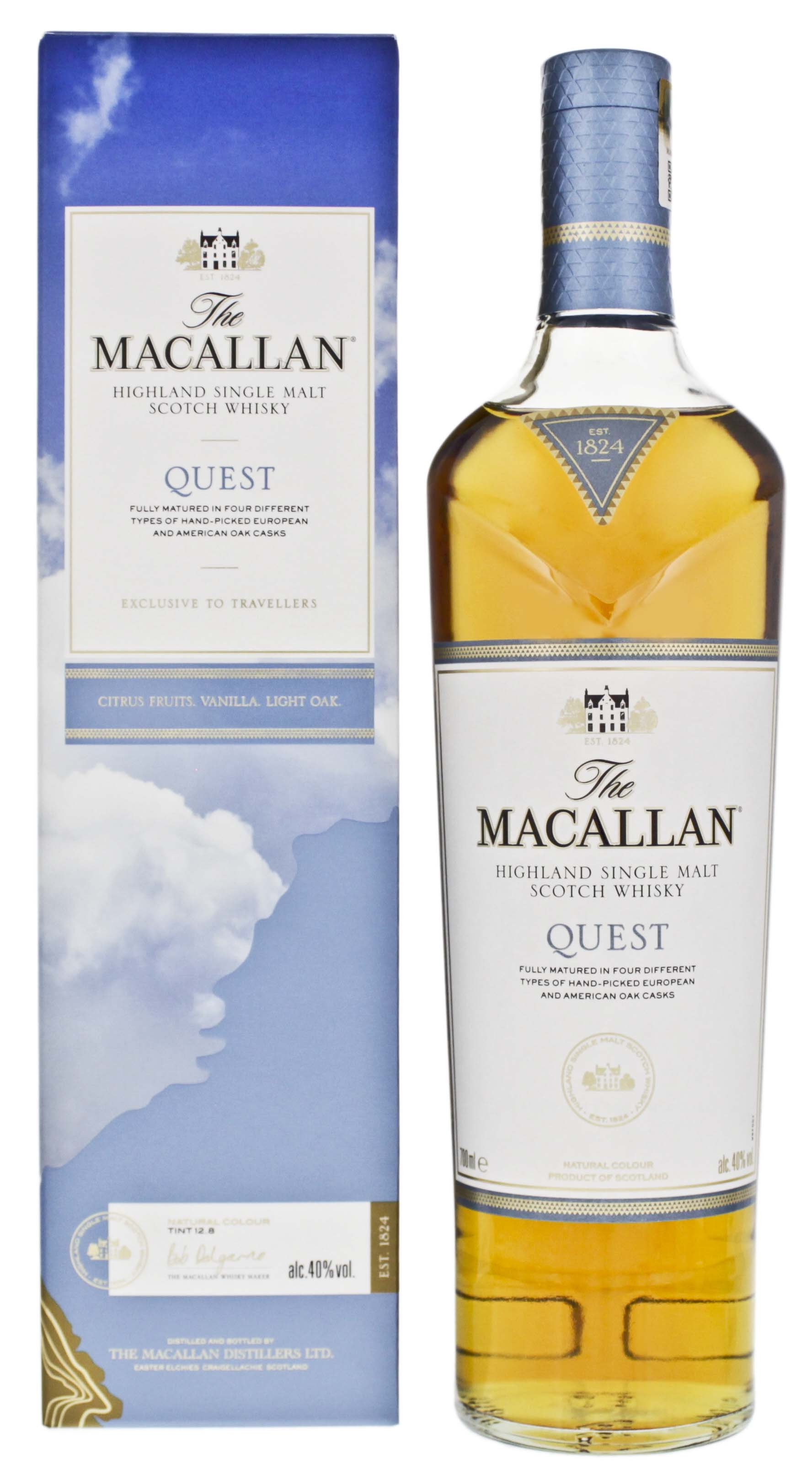 Macallan Highland Single Malt Whisky Quest 0,7L 40%