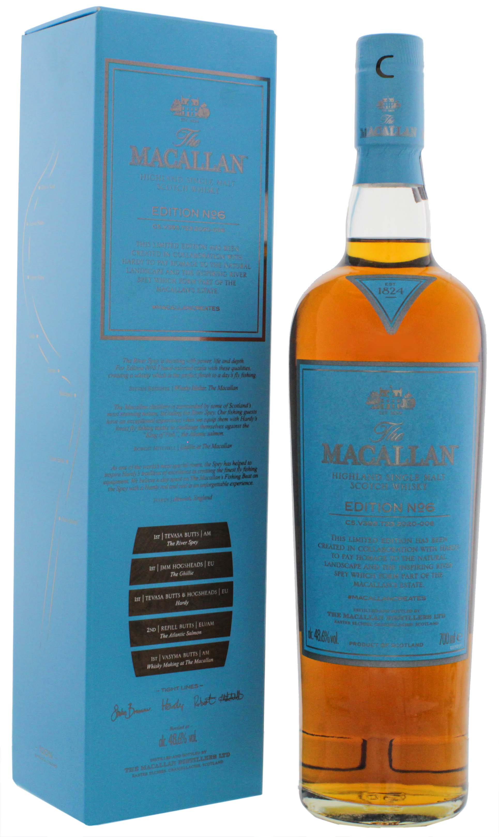 Macallan Single Malt Whisky Edition No. 6  0,7L 48,6%