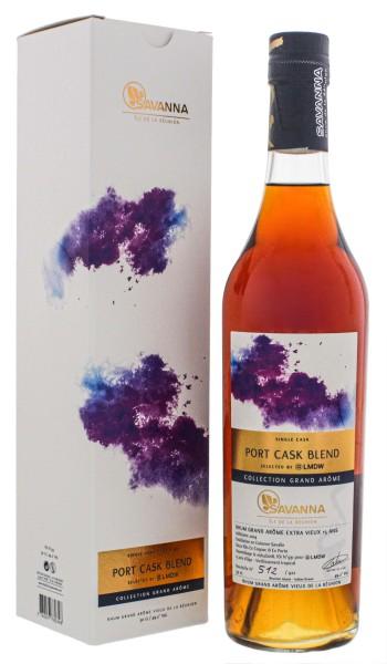 Savanna Collection Rhum Extra Vieux Grand Arome Port Cask Blend Single Cask 15 Jahre 49,2%