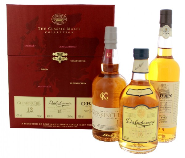 The Classic Malts Collection Gentle 3x0,2 L, 43%