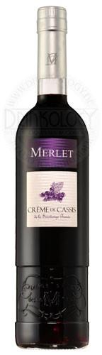 Merlet Creme de Cassis Liqueur 700ml, 0,7 L, 20%