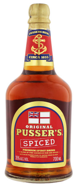 Pusser's Original Spiced 0,7L 35%