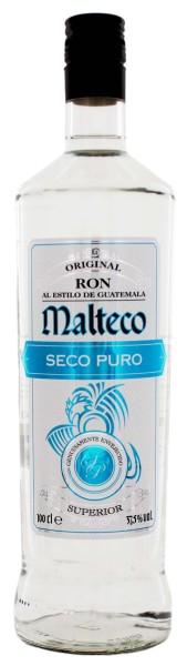 Malteco Rum Seco Puro 1,0L 37,5%