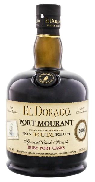 El Dorado Rum Port Mourant Ruby Port Special Cask Finish 2000 Limited Edition 2018 0,7L 59,3%