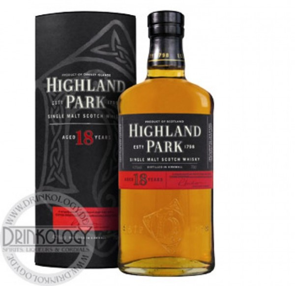 Highland Park Single Malt Whisky 18 Jahre 0,7L 43%