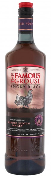 Famous Grouse Blended Scotch Whisky Smokey Black