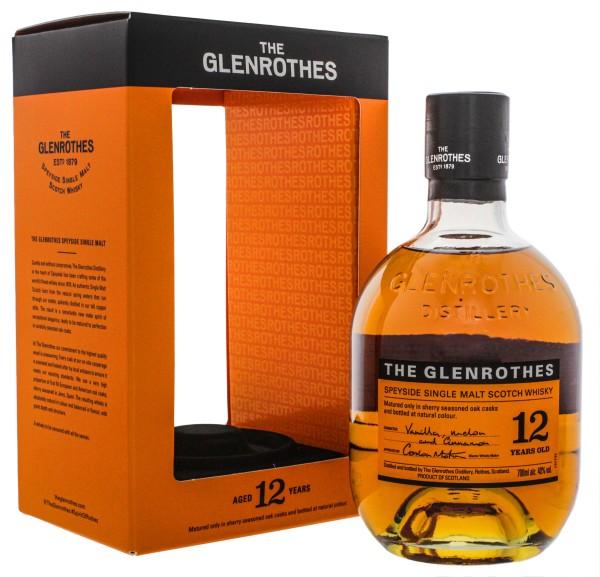 The Glenrothes 12 Jahre Speyside Single Malt Whisky 0,7L 40%