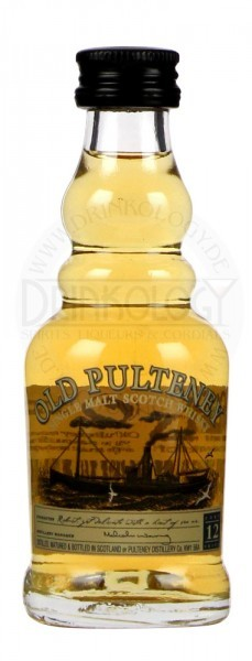 Old Pulteney Single Malt Whisky 12 Years Old Miniature 0,05L 40%