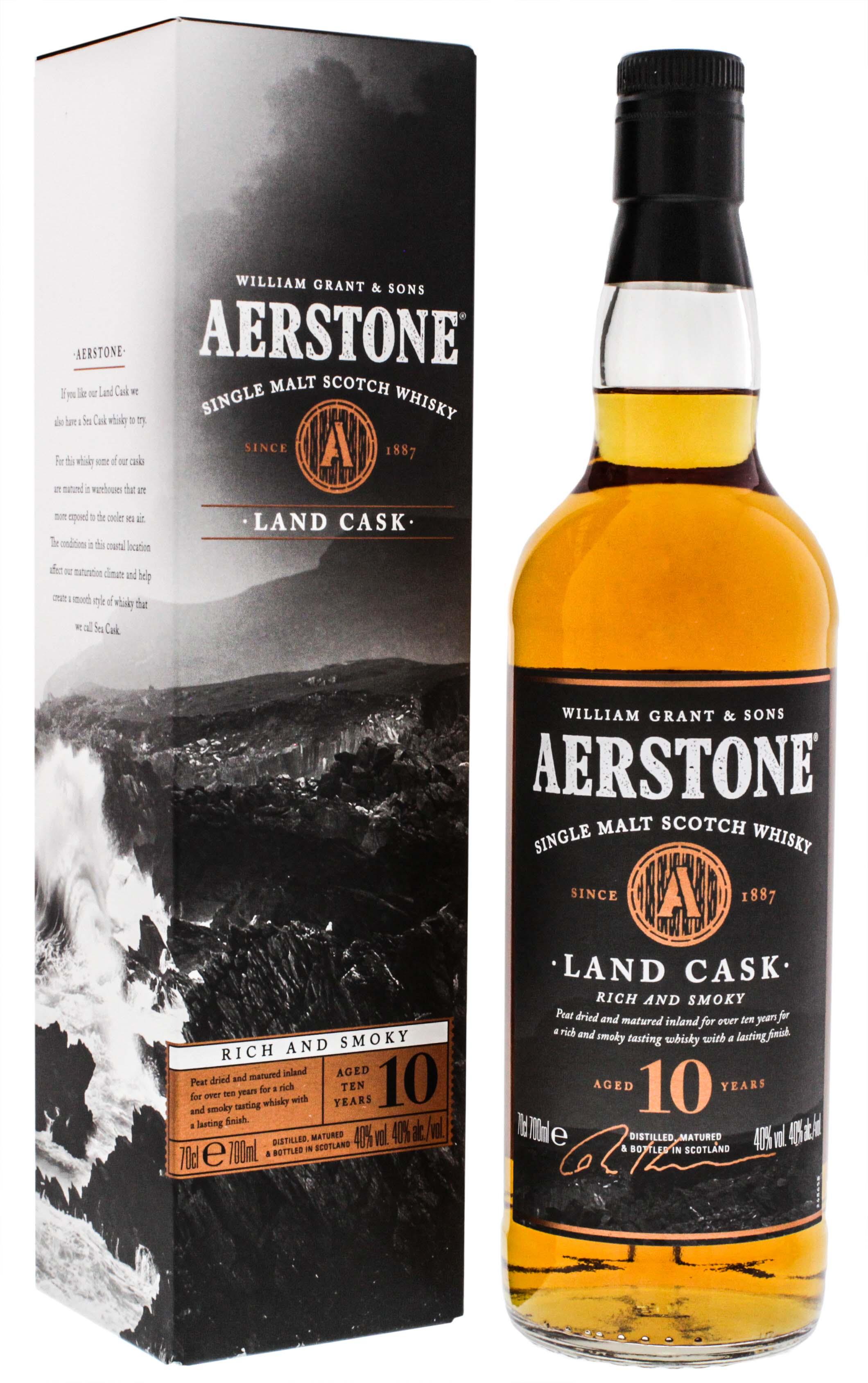 Aerstone Single Malt Whisky 10 Jahre Landcask 0,7L jetzt