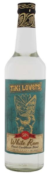 Tiki Lovers White Rum, 0,7 L, 50%