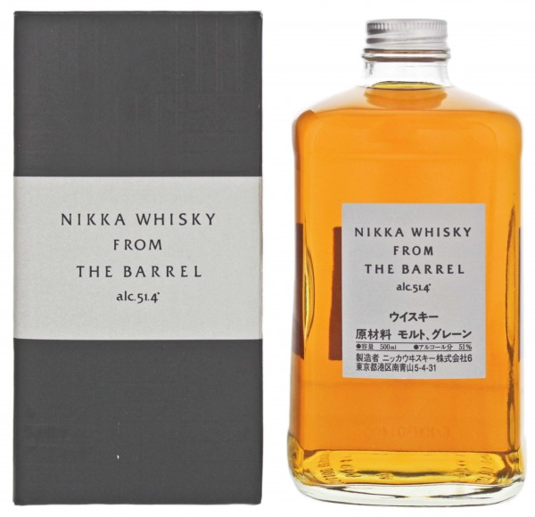 Nikka Whisky From The Barrel, 0,5 L, 51,4%
