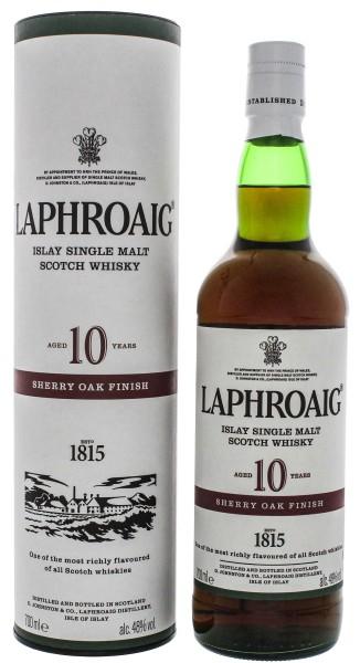 Laphroaig 10 Jahre Single Malt Whisky Sherry Oak Finish 0,7L 48%