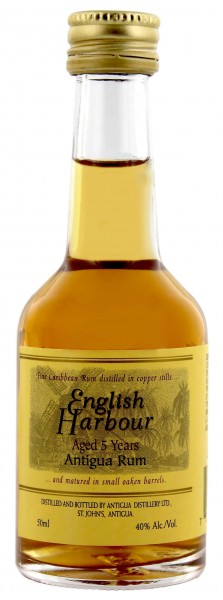 English Harbour Rum 5 Years Old Miniature