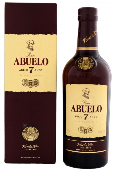 Abuelo Rum Anejo 7 Years Old 0,7L 40%