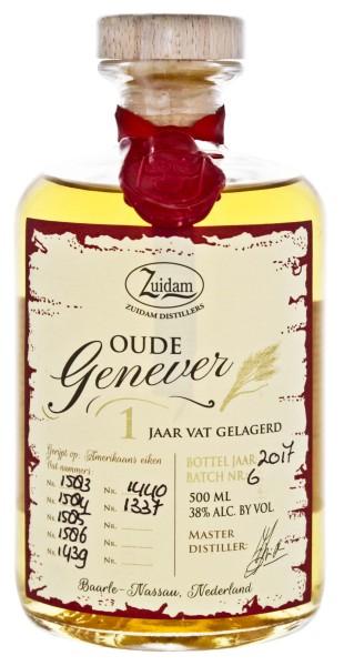 Zuidam Oude Genever 1 Jaar 0,5L 38%