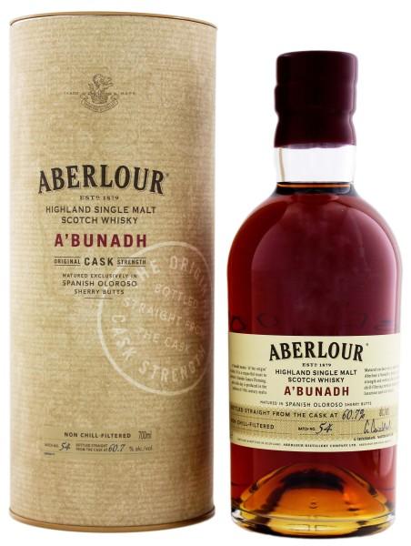 Aberlour A`Bunadh Single Malt Whisky Batch 54, 0,7L 60,70%
