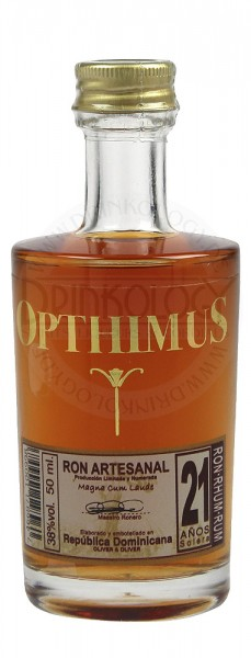 Opthimus Rum 21 Years Old Miniature