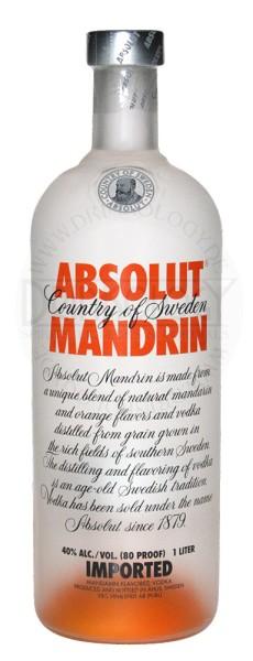 Absolut Vodka Mandrin