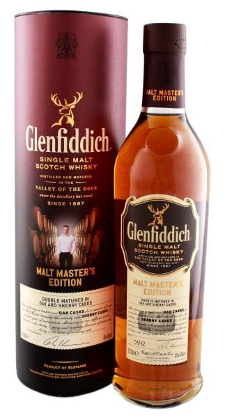 Glenfiddich Single Malt Whisky Malt Masters edition