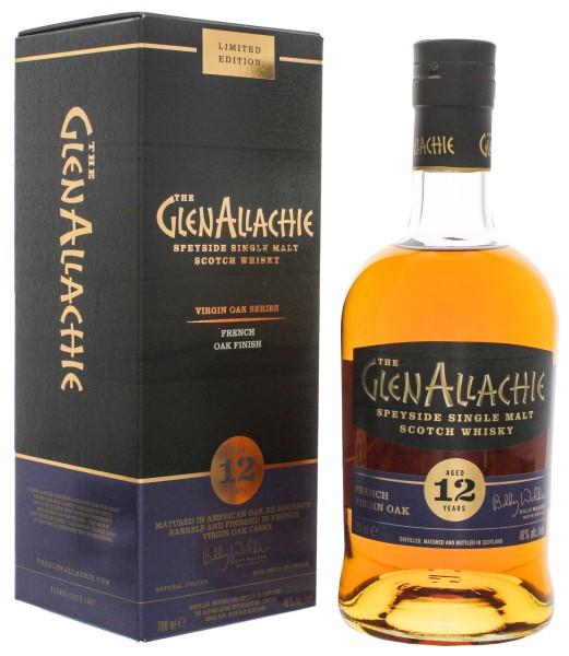 GlenAllachie Single Malt Whisky 12 Jahre French Virgin Oak 0,7L 48%