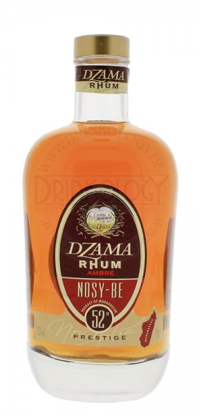 Dzama Rhum Nosy-Be Ambre Prestige 0,7L 52%