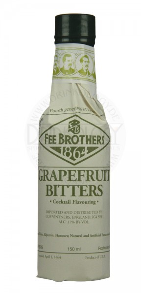 Fee Brothers Grapefruit Bitters, 0,15 L, 17%